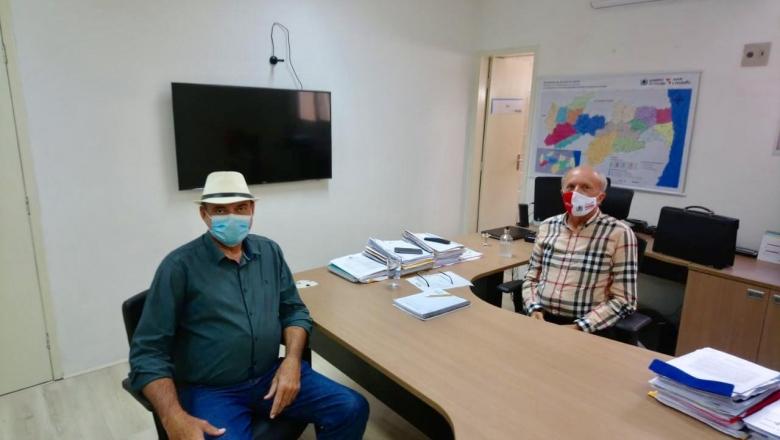 Jeová se reúne com secretário para elogiar ações de combate a covid-19 e pedir implantação do teste do pezinho ampliado
