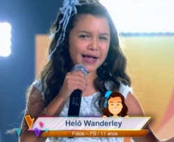 Patoense de 11 anos encanta jurados e se classifica no The Voice Kids