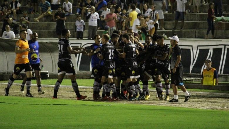 Botafogo da PB vence Botafogo de SP e está a um empate da Série B do Brasileirão