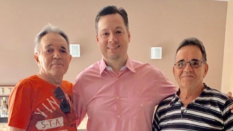 Jr. Araújo se reúne com ex-prefeito de Bom Jesus e assegura união das oposições em 2020