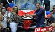 b2f55de46 Secretaria de Saúde faz entrega de nova ambulância ao SAMU de Cajazeiras